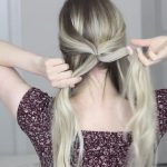 how to messy updo hair tutorial 12