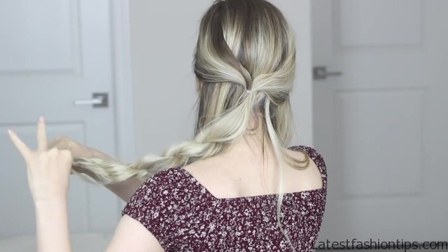 how to messy updo hair tutorial 17 HOW TO Messy Updo Hair Tutorial