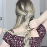 how to messy updo hair tutorial 22