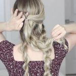 how to messy updo hair tutorial 25