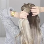 how to messy voluminous ponytail tutorial 17