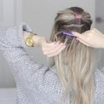 how to messy voluminous ponytail tutorial 20