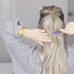 how to messy voluminous ponytail tutorial 22
