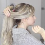 how to messy voluminous ponytail tutorial 25