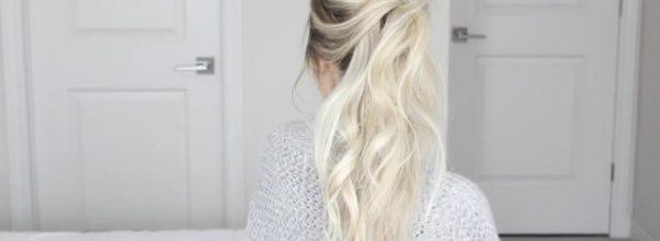 how to messy voluminous ponytail tutorial 29