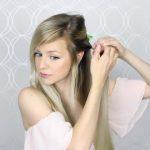 how to pull through crown braided hair tutorial summer inspired long medium hair 08