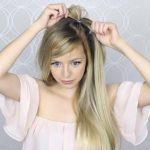 how to pull through crown braided hair tutorial summer inspired long medium hair 10