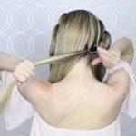 how to pull through crown braided hair tutorial summer inspired long medium hair 14