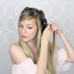 how to pull through crown braided hair tutorial summer inspired long medium hair 18