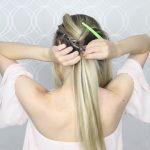how to pull through crown braided hair tutorial summer inspired long medium hair 21