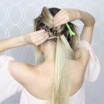 how to pull through crown braided hair tutorial summer inspired long medium hair 22