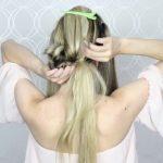 how to pull through crown braided hair tutorial summer inspired long medium hair 24