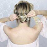 how to pull through crown braided hair tutorial summer inspired long medium hair 28