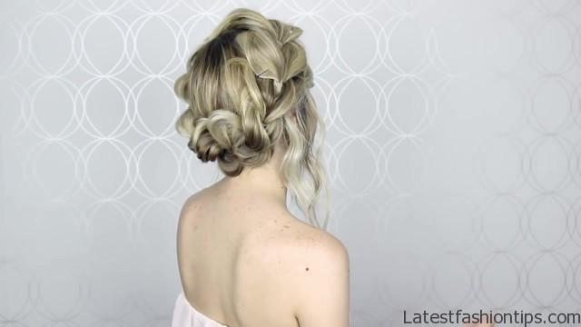 how to pull through crown braided hair tutorial summer inspired long medium hair 31