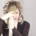 how to romantic hairstyle old hollywood inspired curls 34