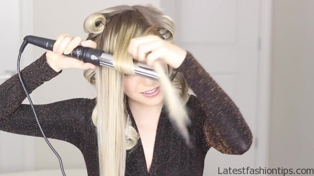 how to romantic hairstyle old hollywood inspired curls 35