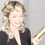 how to romantic hairstyle old hollywood inspired curls 37