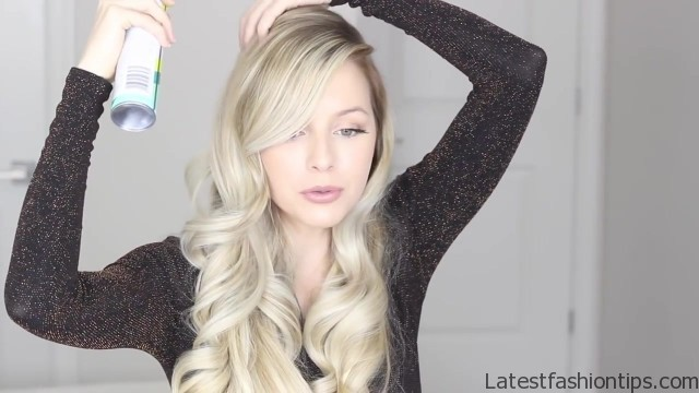 how to romantic hairstyle old hollywood inspired curls 45