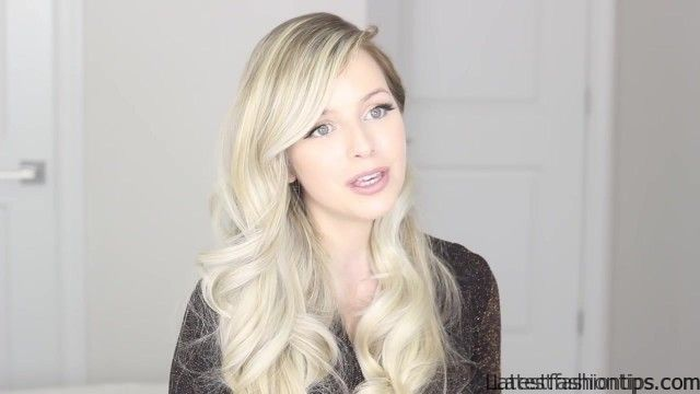 how to romantic hairstyle old hollywood inspired curls 50