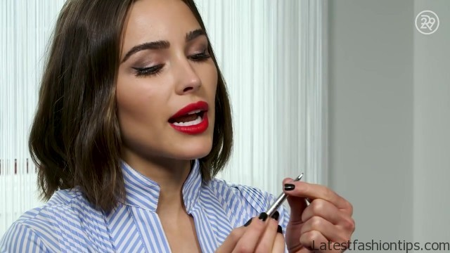 no mirror makeup challenge with olivia culpo beauty with mi 34