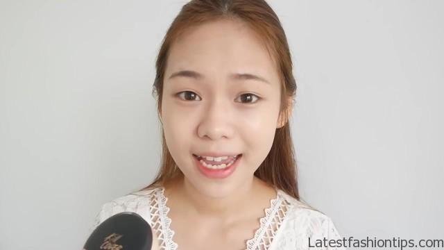 cute korean makeup tutorial eng sub molita lin 22