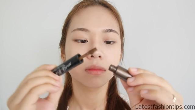 cute korean makeup tutorial eng sub molita lin 27