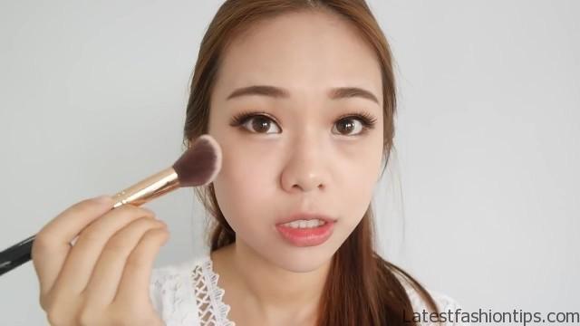 cute korean makeup tutorial eng sub molita lin 45