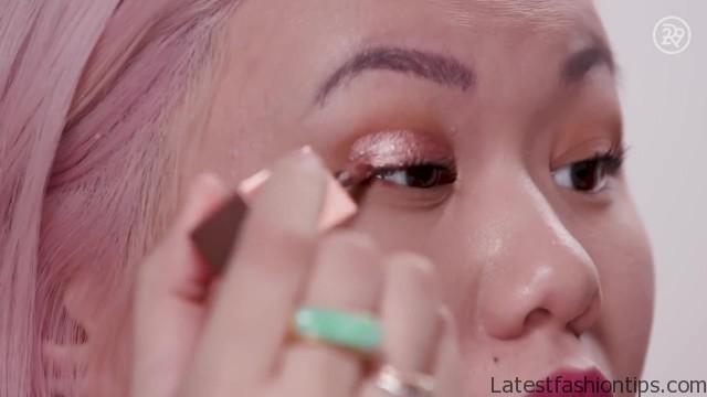 dupe that stila glitter glow liquid eye shadow beauty with mi 17