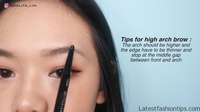 eyebrow tutorial for beginner cara gambar alis untuk pemula 3 eyebrow looks 33