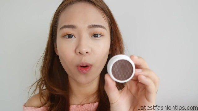 full face makeup using only fingers challenge no brush makeup eng sub 25