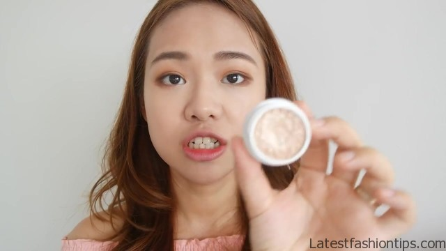 full face makeup using only fingers challenge no brush makeup eng sub 28