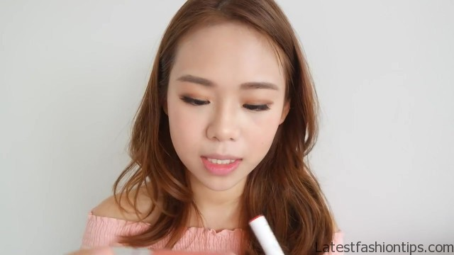 full face makeup using only fingers challenge no brush makeup eng sub 51