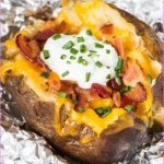 Loaded Baked Potato with Chicken (White Plate)_2.jpg