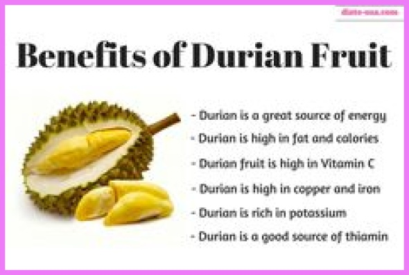 Benefits Of: DURIAN