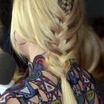 Plaited Fishtail Braid
