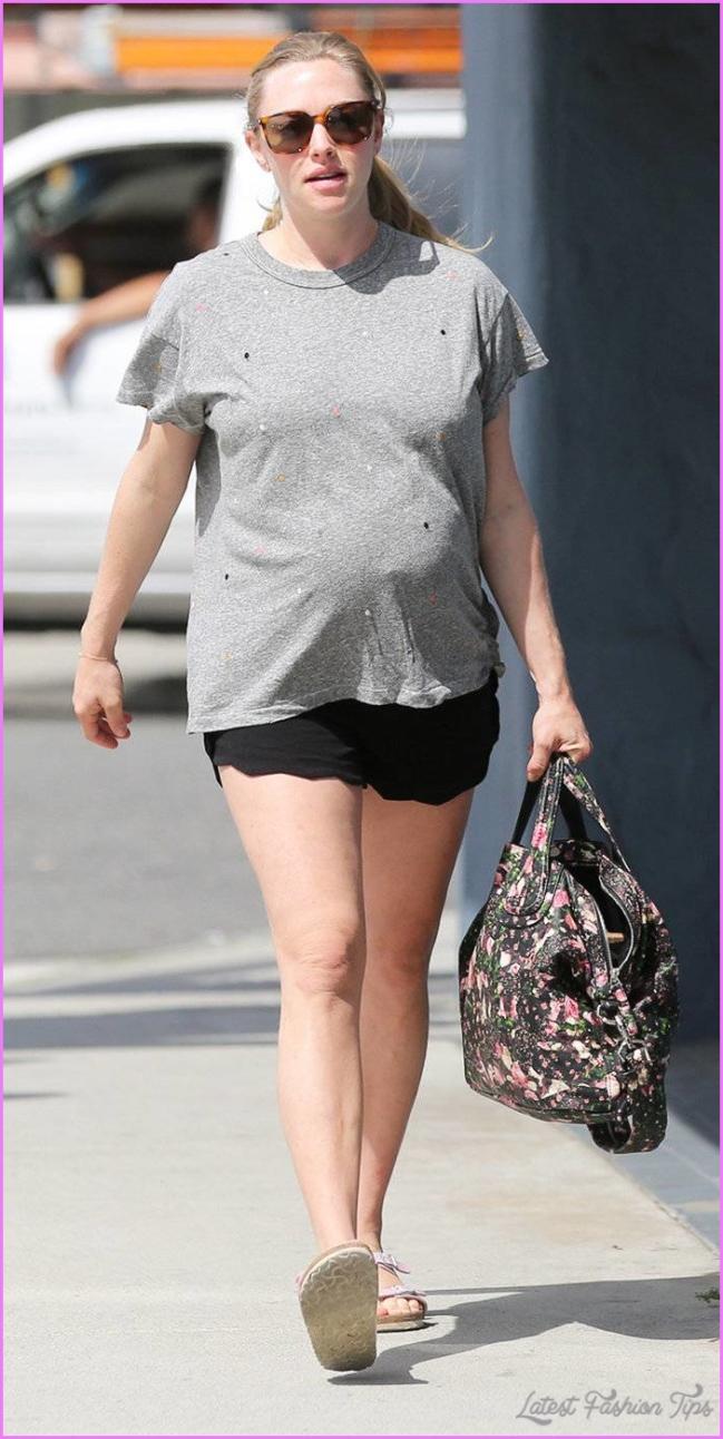 Amanda Seyfried's Maternity Style in Photos