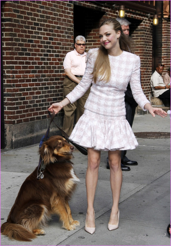 Work Outfit Idea! Amanda Seyfried Solves Suit Fatigue Syndrome With