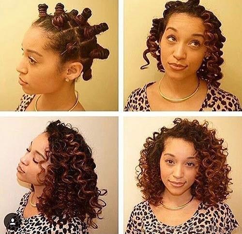 Best Bantu Knots Hairstyles - How To Do Bantu Knots