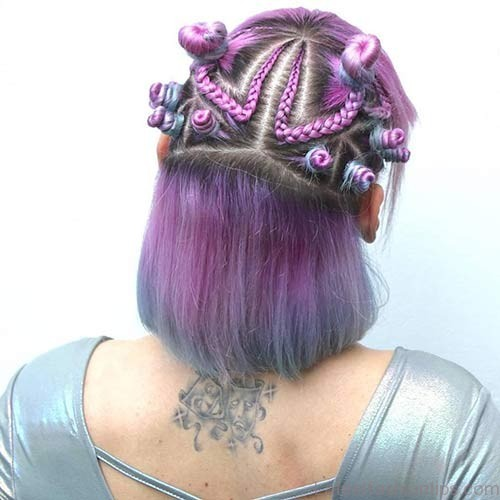 Best Bantu Knots Hairstyles - Small Bantu Knots