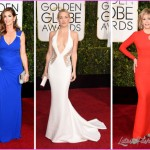 2015 Golden Globes Red Carpet Versace dresses Cindy Crawford Jane ...