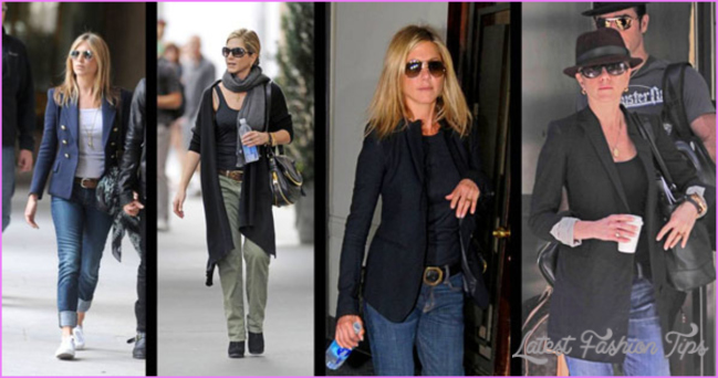California Casual: 4 Outfits Inspired by Jennifer Aniston's Daytime