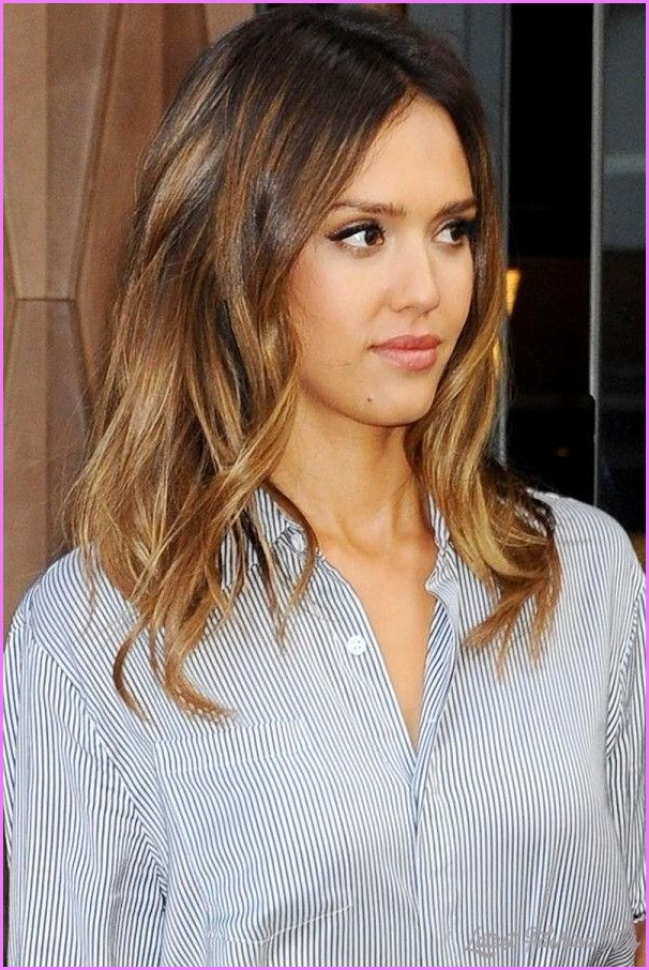 2018 Popular Long Hairstyles Jessica Alba