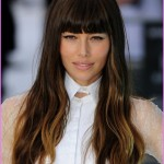 StyleNoted | Jessica Biel's Perfect Fringe