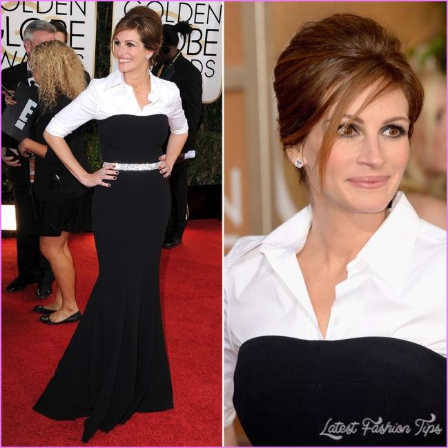 Julia Roberts Dress on Golden Globes 2018 Red Carpet