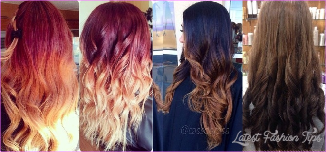 Most Popular Ombre Hair Color & Hairstyling Trends 2018-2019
