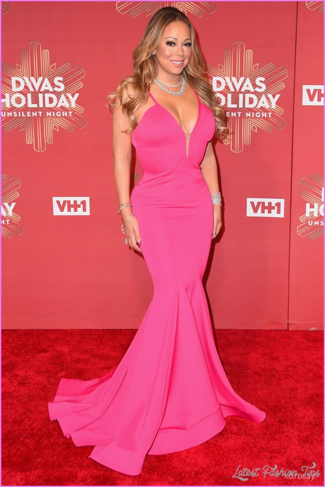 Mariah Carey Red Carpet Looks Latestfashiontips Com
