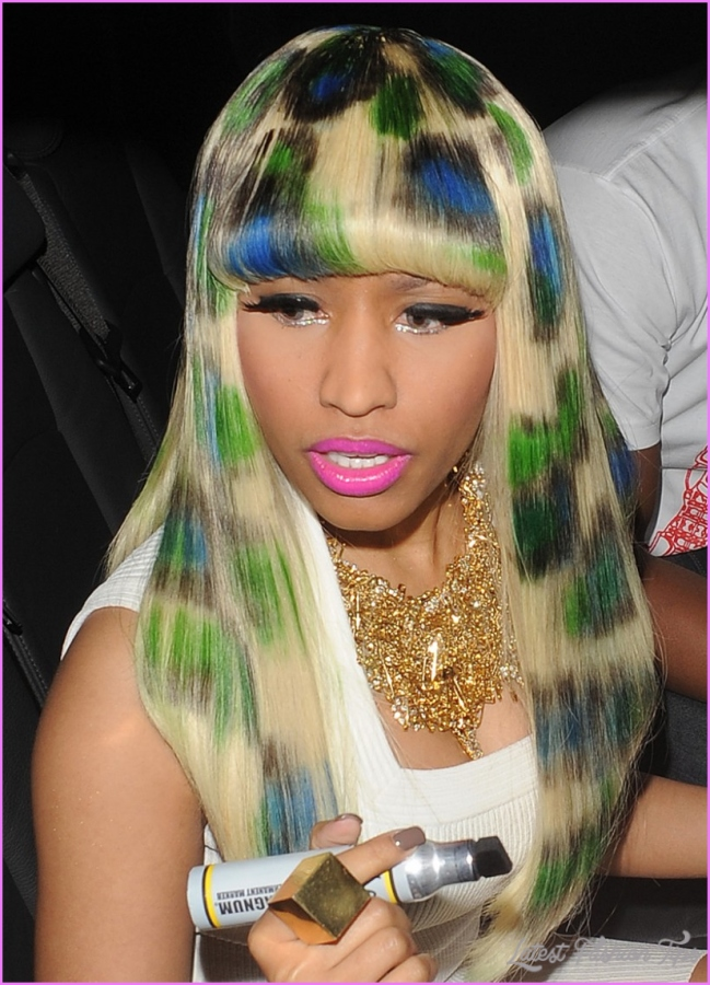 hairstyles blog: nicki minaj hairstyle