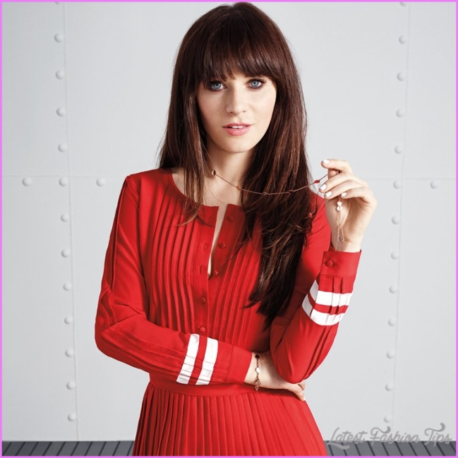 Zooey Deschanel Tommy Hilfiger Collection