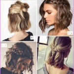 Simple Wedding Hairstyles for Short Hair  2018