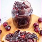 Homemade Cherry Jam Without Pectin - Veena Azmanov